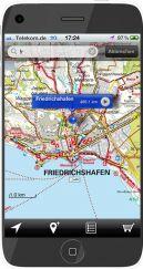 Kartenausschnitt Bodensee