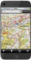 Kartenausschnitt Ruhrgebiet