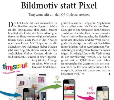 Artikel in der Internet World Business Ausgabe 21/2013