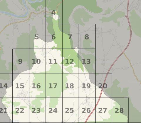 OpenStreetmap Übersichtskarte